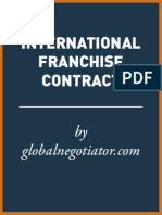 INTERNATIONAL FRANCHISE CONTRACT