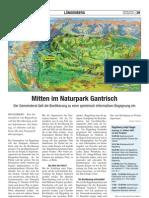 Mitten im Naturpark Gantrisch