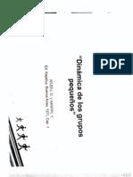 1-Dinámica de los Grupos Pequeños (Anzieu, D. y Martin, Y)