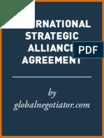 INTERNATIONAL STRATEGIC ALLIANCE AGREEMENT