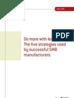 5 Strategies Successful SMB MFGs VISUAL