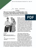 """Repubblica su Rapporto l' """"Urlo"""""""