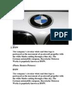 Logos of Famous Automotive Companies