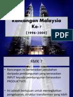 Rancangan Malaysia 7-8