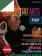 Kwantunthu Arts Magazine September 2013