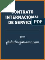 CONTRATO INTERNACIONAL DE  SERVICIOS