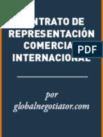CONTRATO DE REPRESENTACIÓN COMERCIAL INTERNACIONAL