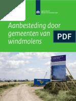 Aanbesteding Door Gemeenten Van Windmolens_bron Agentschap NL