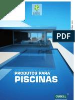 Catalogo Cudell Produtos para Piscinas
