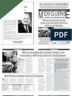 Versión impresa del periódico El mexiquense 6 mayo 2013