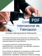 CONTRATO INTERNACIONAL DE FABRICACIÓN