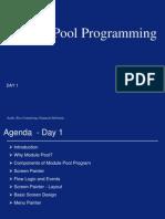 CR10 Module Pool Day 1