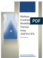 Methane Combustion Modelling Using ANSYS-CFX - (Www.cfdiran.ir)