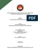 Fakta, Konsep, Proses, Prosedur dan Prinsip dalam HSP Produksi Multimedia