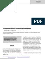 Biosensors Based on Piezoelectric Transducers