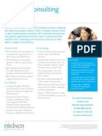Nielsen Business Consulting Services Overview Fact Sheet