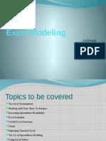 Excel Modeling 1