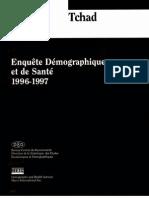 Enquête Démographique et de Santé Tchad 1996-1997 (Mai 1998)