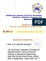 Mel Bandalaria - Building the Capacity of CeC Knowledge Workers (eSkwela)