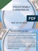 Hubungan Pemilu Dan Demokrasi