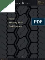 Factors Affecting the Fuel Economy