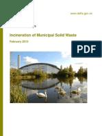 Incineration Municipal Waste
