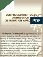 TemaVII-Distribucion en Procesal Civil Dom.
