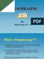 RD103 Paraphrasing