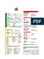 Behavior Observation Checklist