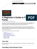 A Beginner's Guide to Pairing Fonts _ Webdesigntuts