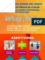 Asertividad Sexual