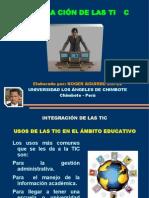Roger Aguirre - Integración de las TIC