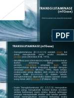 TRANSGLUTAMINASE (mTGase)