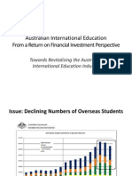 Revitalising The Australian International Education Industry