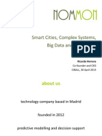 Nommon Smart Cities CSS BigData