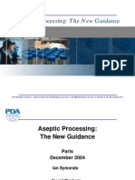 Aseptic Processing the New Guidance
