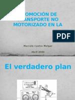 PROMOCIÓN DE TRANSPORTE NO MOTORIZADO EN LA CIUDAD SANTA CRUZ BOLIVIA