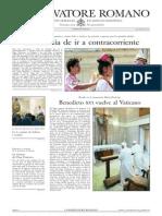L´OSSERVATORE ROMANO - 03 Mayo 2013