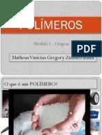 Curso Polímeros - I