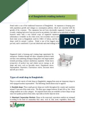 Bangladesh retailing industry | Supermarket | Retail