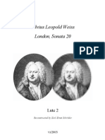 D-SLWeiss  Lute Duos III
