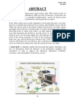 PROJECT REPORT ON SMART GRID