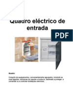 Quadro eléctrico de entrada