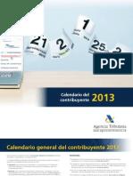 Calendario contribuente