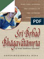 Sri Brihad Bhagavatamrita by Sanatan Gosvami