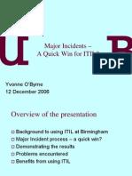 Major Incidents –pdf