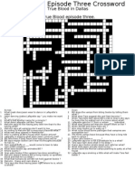 Episode 3 crossword alt style