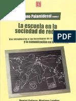 Palamidessi - La Escuela en La Sociedad de Redes