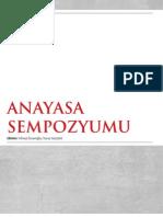 Anayasa Sempozyumu