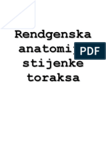 Rendgenska Anatomija i Patologija - III. Dio